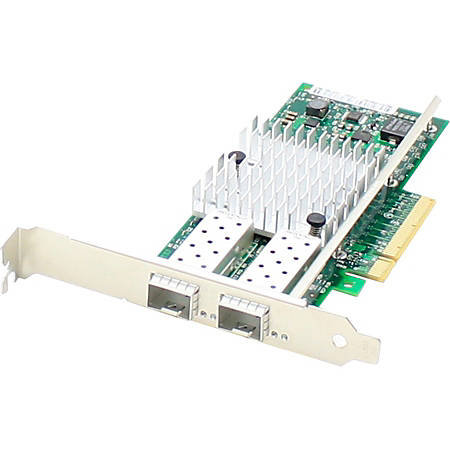 AddOn HP 700751-B21 Comparable 10Gbs Dual Open SFP+ Port Network Interface Card with PXE boot