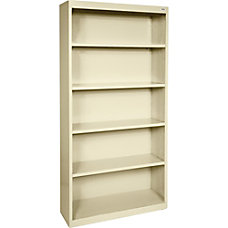 Lorell Fortress Series Steel Bookcase 5