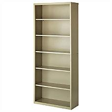 Lorell Fortress Series 6 Shelf Bookcase