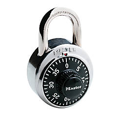 Master Lock Combination Padlock BlackChrome