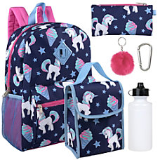6 In 1 Backpack Set Ice