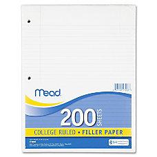 Mead Notebook Filler Paper Letter 200