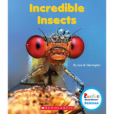 Scholastic Rookie Read-About Science: Strange Animals, Incredible Insects, Grades 1 - 2, Box Of 84