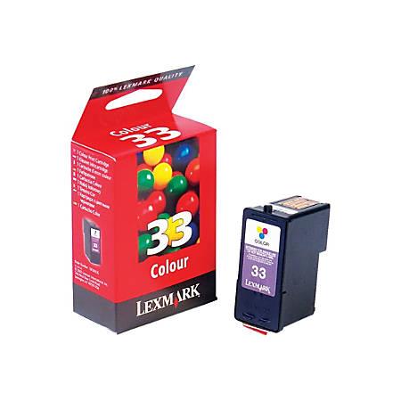 Lexmark™ 33 (18C0033) Color Ink Cartridge