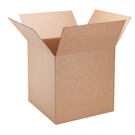 """Office Depot® Brand Corrugated Cartons, 20""""H x 20""""W x 20""""D, 40% Recycled, Brown, Pack Of 5"""