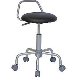 Flash Furniture Ergonomic Stool BlackSilver
