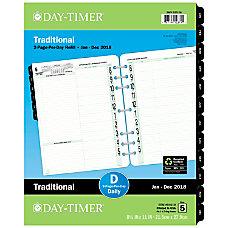 Day Timer Original Organizer Refill 8