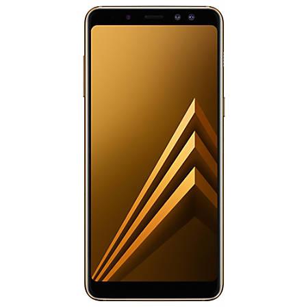 Samsung Galaxy A8 A530F Cell Phone, Gold, PSN101071