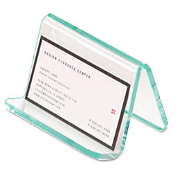 Lorell Acrylic Business Card Holder 2