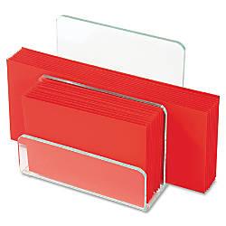 Lorell Acrylic Mini File Sorter 7