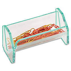 Lorell Acrylic Paper Clip Holder 2