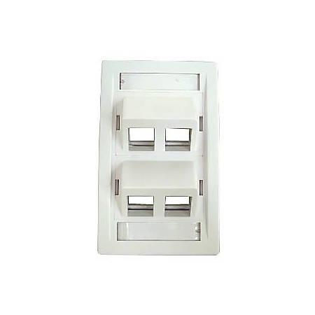 Belkin Module Faceplate - 1-gang - White