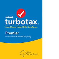 TurboTax Premier Fed Efile State 2017