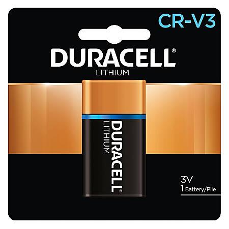 Duracell CRV3 Lithium Battery