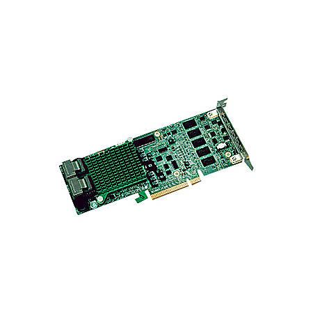 Supermicro LSI MegaRAID 2108 AOC-USAS2LP-H8IR 8-port SAS RAID Controller -  Serial ATA/600 - PCI Express - Plug-in Card - RAID Supported - 0, 1, 5, 6,