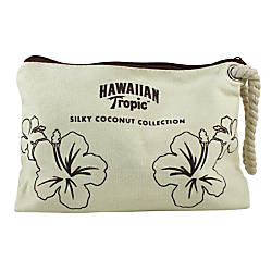 Hawaiian Tropic Samples Bags Burlap Pack
