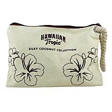 Hawaiian Tropic Samples Bags Burlap Pack