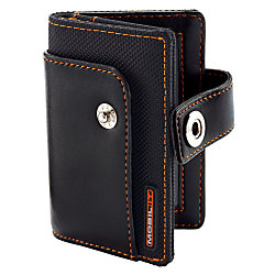Ativa mobil it business card wallet blackorange by office depot ativa mobil it business card wallet blackorange reheart Image collections