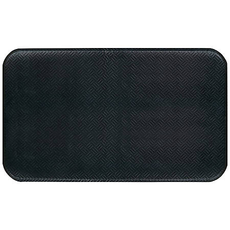 The Andersen Company Hog Heaven Prime Floor Mat, 3' x 5', Black
