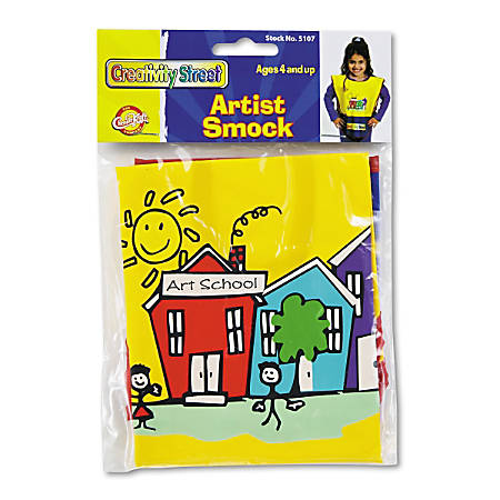 Chenille Kraft Artist Smock, Assorted Colors