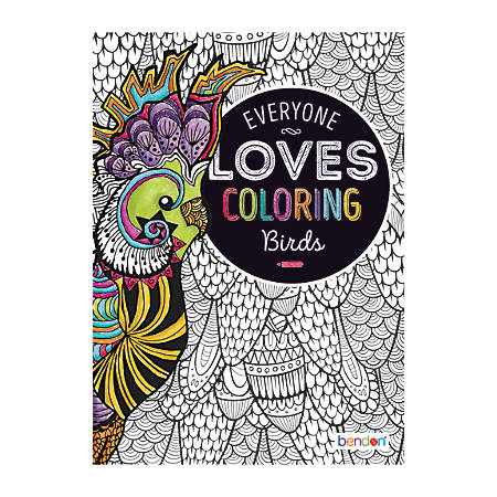 Bendon® Adult Coloring Book, Birds