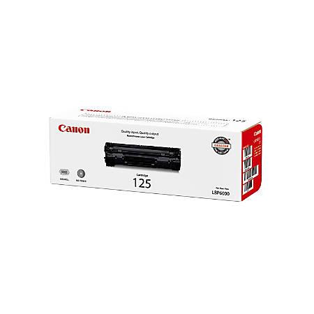 Canon CRG-125 (3484B001) Black Toner Cartridge