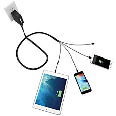 ChargeTech Universal Phone Charger Squid 120