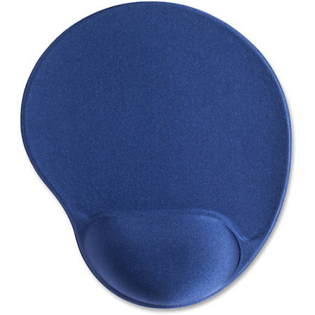 "Compucessory Gel Mouse Pads - 9"" x 10"" x 1"" Dimension - Blue - Gel"