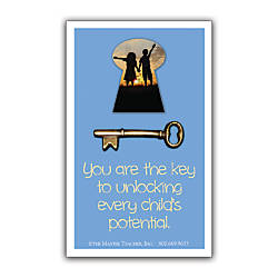 You Are The Key Lapel Pin