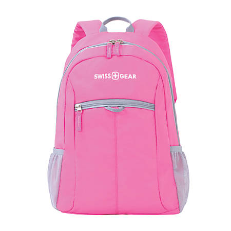 SWISSGEAR® Student Laptop Backpack, Black/Pink