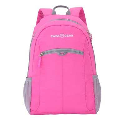 ac7806eab4 SWISSGEAR® Student Laptop Backpack, Black/Pink. Use + and - keys to zoom in  and out, arrow keys move the zoomed portion of the image