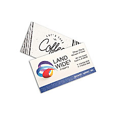 Full Color Raised Print Business Cards