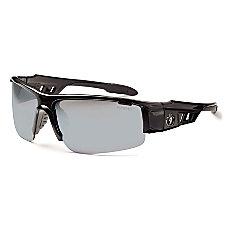 Ergodyne Skullerz Safety Glasses Dagr Black