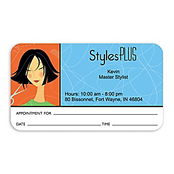 Full color flat print appointment business cards box of 250 by full color flat print appointment business cards box of 250 reheart