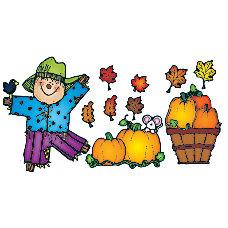 DJ Inkers Pumpkin Patch Bulletin Board