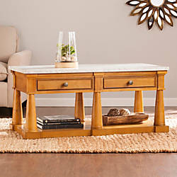 Southern Enterprises Grandview Cocktail Table Rectangle