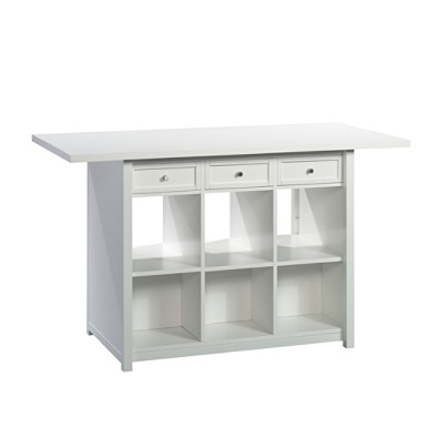 Cool Sauder Craft Pro Series Work Table White Item 5064490 Ncnpc Chair Design For Home Ncnpcorg