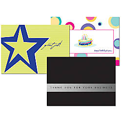 Full Color Greeting Cards Folded 8