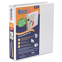 Stride QuickFit Round Ring View Binder