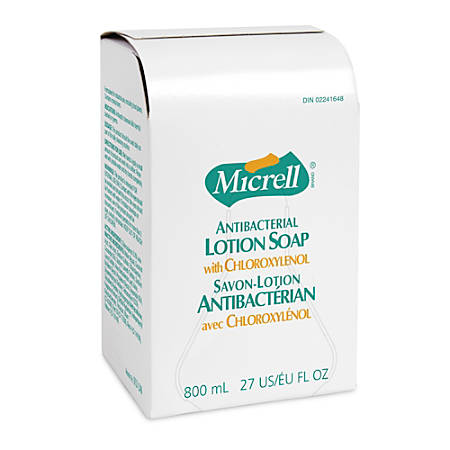 Micrell Antibacterial Lotion Dispenser Refill, 27 Oz.