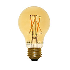 Euri A19 Amber Glass LED Filament