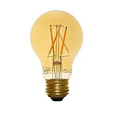 Euri A19 Amber Glass LED Filament