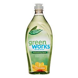 Green Works Original Dishwashing Liquid 22