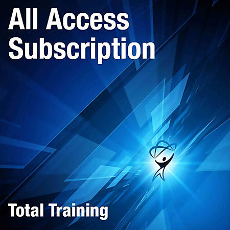 Total Training All Access 90 Day Subscription, Download Version