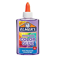 Elmers Washable Translucent Color Glue Purple