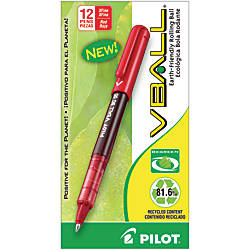 Pilot V Ball BeGreen 82percent Recycled