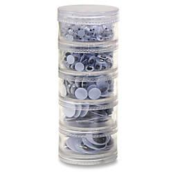 Chenille Kraft Wiggle Eyes Stackable Jar