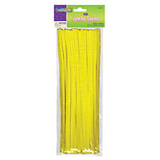Chenille Kraft Yellow Jumbo Pipe Cleaners