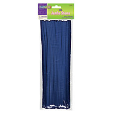 Chenille Kraft Blue Jumbo Pipe Cleaners