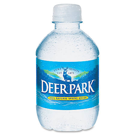 Deer Park Natural Spring Water - 8 fl oz (237 mL) - Bottle - 48 / Carton
